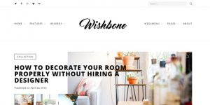 Wishbone - Cheap WordPress Magazine Themes
