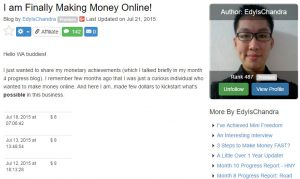 How Long It Takes To Make Money Online 02 - Affiliate Marketing Training For Beginners