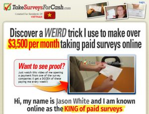 Paid Surveys - How To Make Passive Income Online