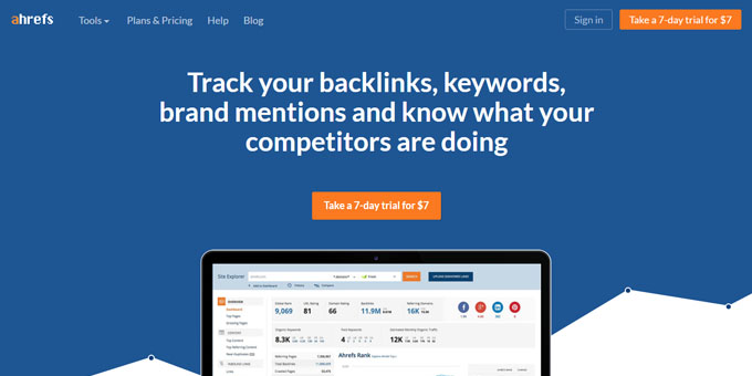 Ahrefs - Best Keyword Research Tools 2017