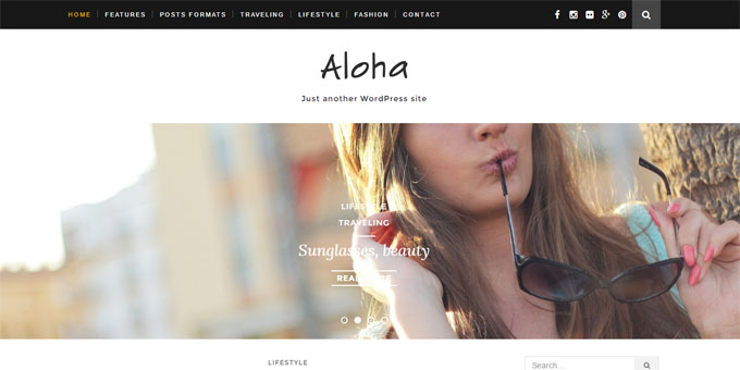 Aloha - Cheap WordPress Designs