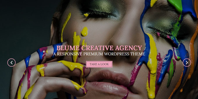 Blume - Cheap WordPress Designs
