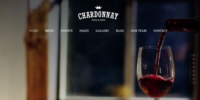 Chardonnay - Cheap WordPress Designs