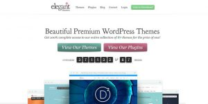Elegant Themes - Best Places To Buy WordPress Themes