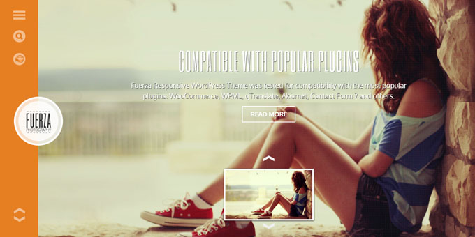 Fuerza - Cheap WordPress Designs