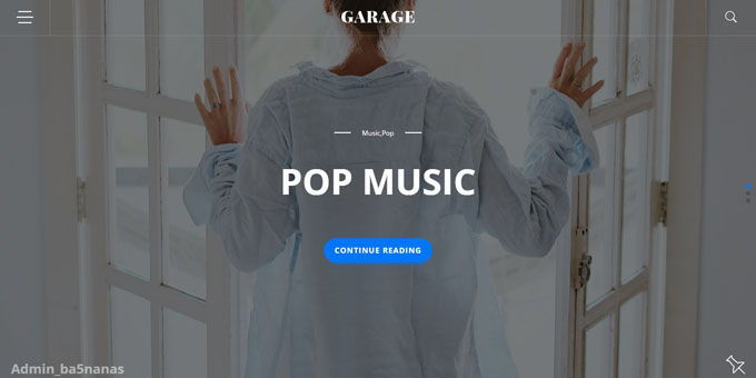 Garage Blog - Cheap WordPress Designs
