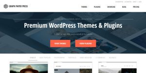 Graph Paper Press - Best Places To Buy WordPress Themes
