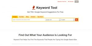 Keyword Tool - Best Keyword Research Tools 2017