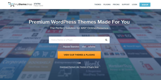MyThemeShop - Best Places To Buy WordPress Themes