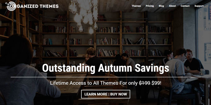 Organized Themes - Best Places To Buy WordPress Themes