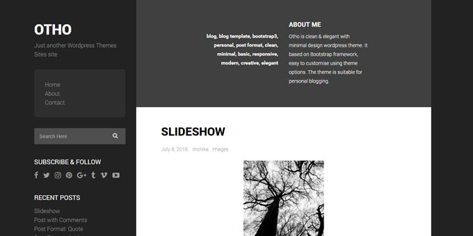Otho - Cheap WordPress Designs