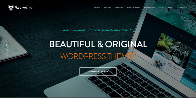 ThemeFuse - Best Places To Buy WordPress Themes
