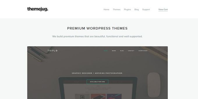 ThemeJug - Best Places To Buy WordPress Themes