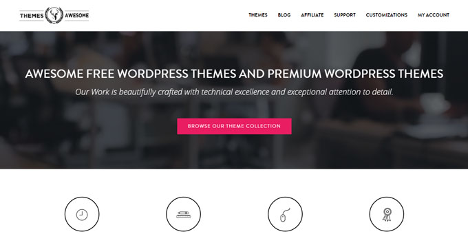 Themes Awesome - Best Places To Buy WordPress Themes