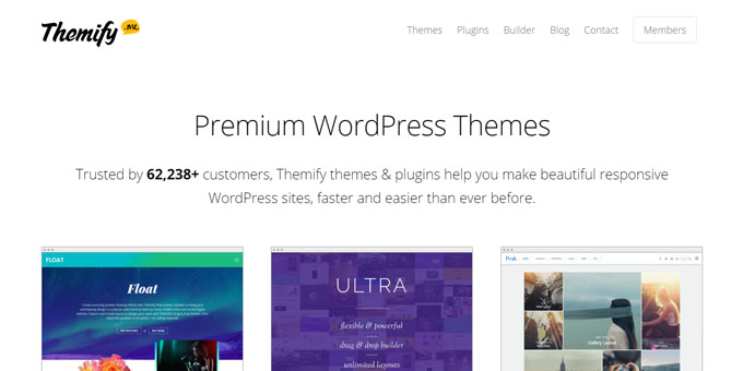 Themify - Best Places To Buy WordPress Themes
