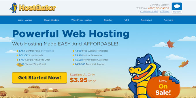 HostGator - Best Domain Name Registrars 2018