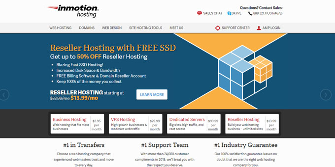 InMotion Hosting - Best Domain Name Registrars 2016 and 2017