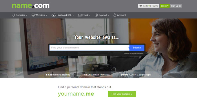 Name - Best Domain Name Registrars 2016 and 2017