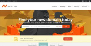 NameCheap Homepage - How To Buy A Web Domain Name