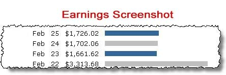 Instant Profit Machine Review - Earnings