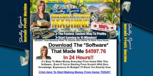 Instant Profit Machine Review - Homepage