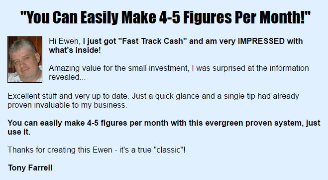 Is Fast Track Cash A Scam - Testimonial