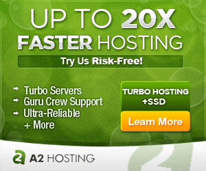 A2 Hosting Banner - Monthly Web Hosting