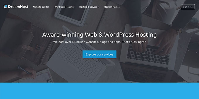 DreamHost - Best Web Hosting for Blogs