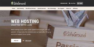 SiteGround - Best Web Hosting for Blogs