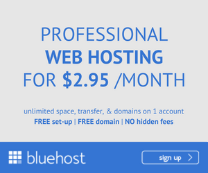 BlueHost - Banner