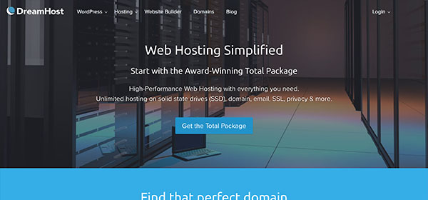 DreamHost - Monthly Web Hosting