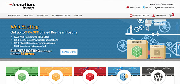 InMotion Hosting - Monthly Web Hosting